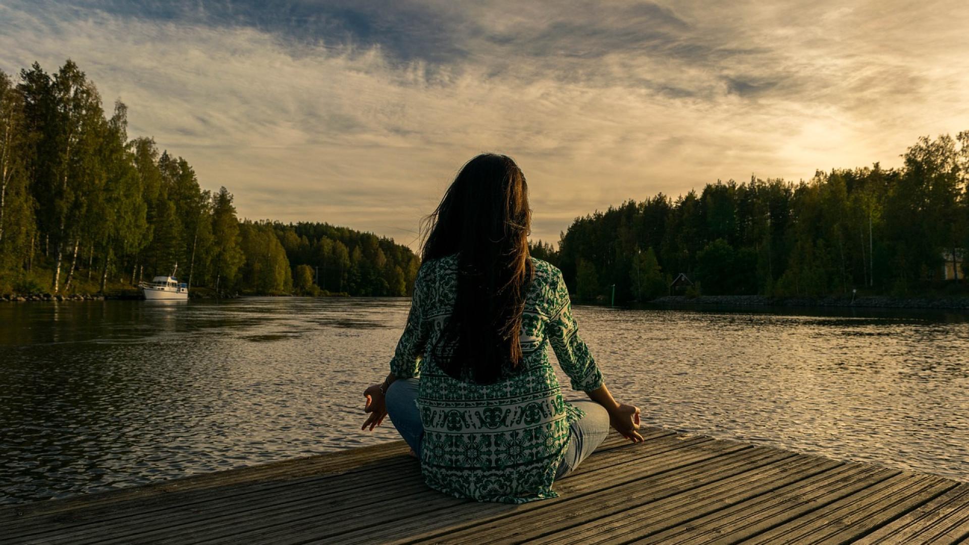 La méditation peut vous vous aider à trouver la sérénité